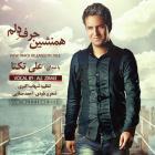 پخش و دانلود آهنگ همنشین حرف دلم از علی زیبایی (تکتا)