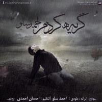 دانلود و پخش آهنگ گریه کردم از احمد سولو
