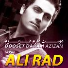 پخش و دانلود آهنگ دوست دارم عزیزم از علی راد
