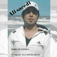 پخش و دانلود آهنگ دلگیرم از علی سعیدی