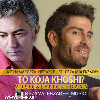 پخش و دانلود آهنگ تو کجا خوشی با حضور رضا ملک زاده از محمدرضا هدایتی