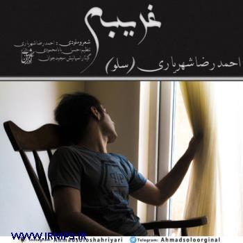 پخش و دانلود آهنگ غریبم از احمدرضا شهریاری
