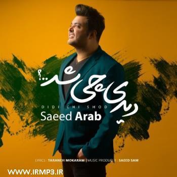 پخش و دانلود آهنگ دیدی چی شد از سعید عرب