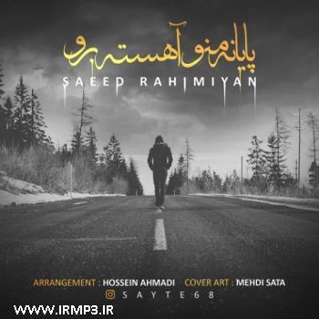پخش و دانلود آهنگ جدید پایان منو آهسته برو از سعید رحیمیان