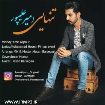 پخش و دانلود آهنگ جدید تنهایی از امیر علیپور