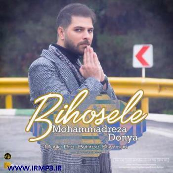 پخش و دانلود آهنگ بی حوصله از محمدرضا دنیا