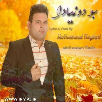 پخش و دانلود آهنگ جدید بودونیادا از محمد حیدری