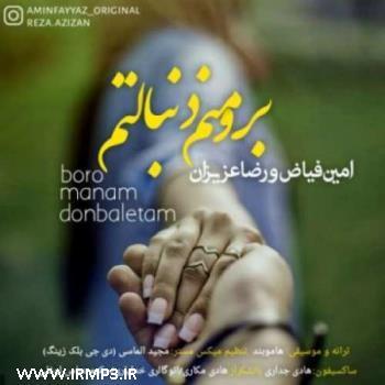 پخش و دانلود آهنگ با حضور رضا عزیزان برو منم دنبالتم از امین فیاض