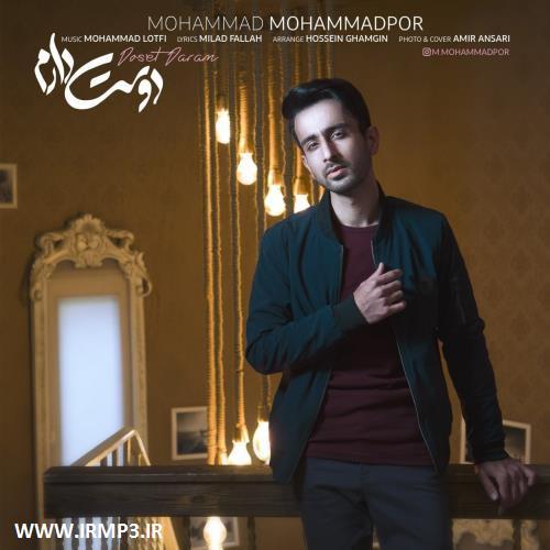 پخش و دانلود آهنگ جدید دوست دارم از محمد محمدپور