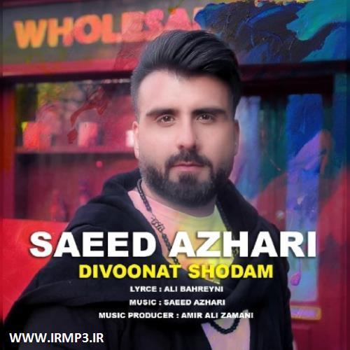 پخش و دانلود آهنگ جدید دیوونت شدم از سعید اظهری