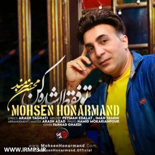 پخش و دانلود آهنگ جدید تو فقط اشاره کن از محسن هنرمند